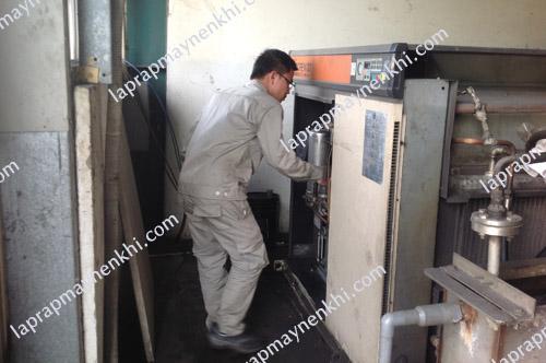 bảo dưỡng máy nén khí Kobelco