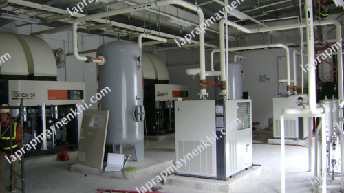 Nguyên tắc khi lắp đặt máy nén khí