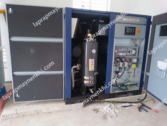 bảo trì máy nén khí compkorea vào mùa đông