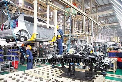 Máy nén khí được sử dụng trọng bảo dưỡng và sản xuất ô tô