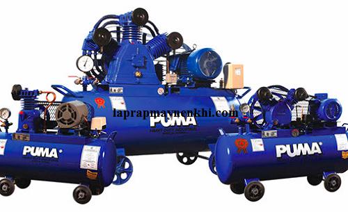Chọn những sản phẩm máy nén khí ở các thương hiệu nổi tiếng như máy nén khí Puma