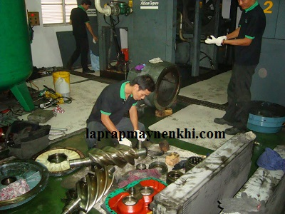 Quy trình bảo trì bảo dưỡng các phụ kiện máy nén khí công nghiệp đúng cách