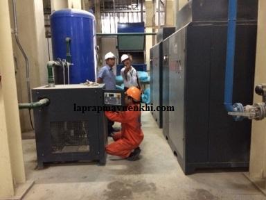 Khi vận hành máy nén khí không dầu người dùng cần tuân thủ quy tắc đặt ra