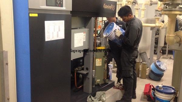 Những nguy hại khi không thay dầu máy nén khí định kỳ