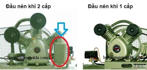 Phân biệt máy nén khí một cấp và máy nén khí hai cấp