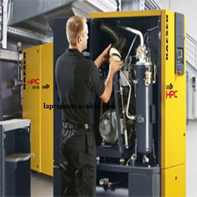 Quy trình sửa chữa máy nén khí được thực hiện công khai, minh bạch