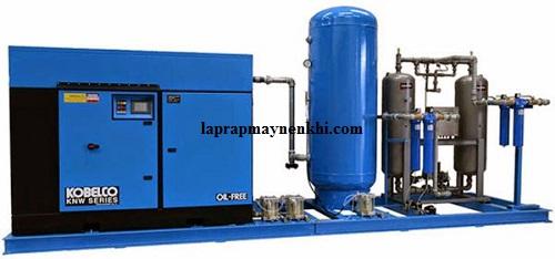 Máy nén khí không dầu Kobelco được gia công với độ chính xác cao
