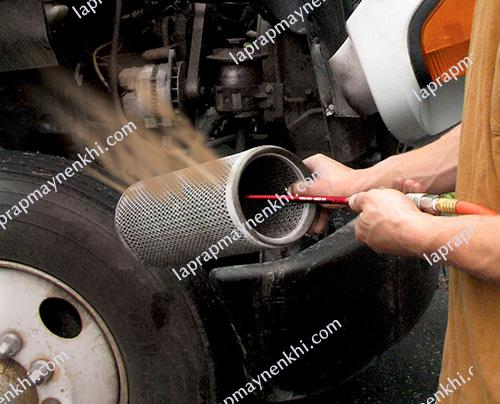 Bảo dưỡng phụ tùng máy nén khí giúp thiết bị có thể làm việc tốt