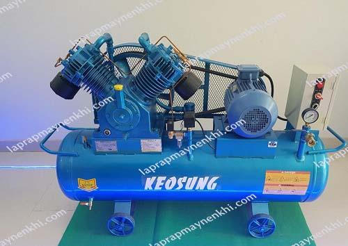 Máy nén khi Keosung được nhập khẩu từ Hàn Quốc