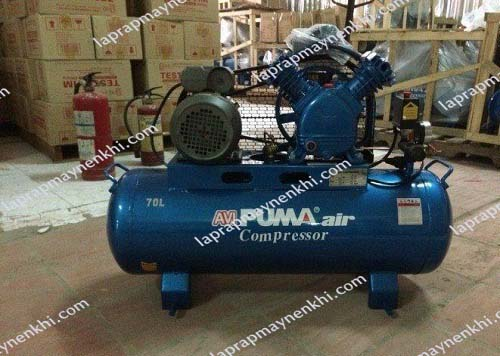 Máy nén khí Puma GX-75250 (7.5HP) được nhập khẩu tại Đài Loan.