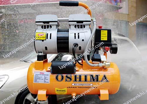Máy nén khí Oshima có lớp sơn tĩnh điện an toàn đối với người dùng