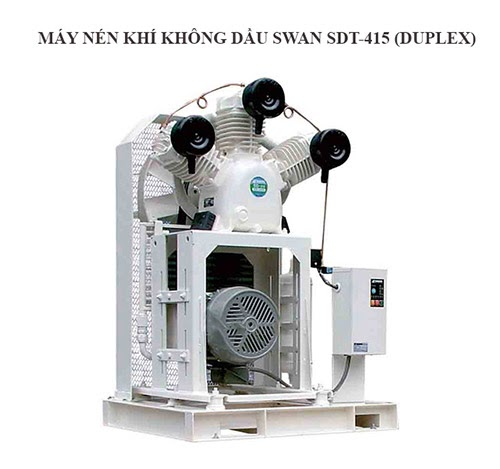 Máy nén khí Swan SDT-415 (Duplex)