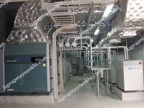 Người dùng cần chú ý lắp đặt hệ thống làm mát khi dùng máy nén khí trục vít