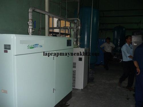 Máy nén khí không dầu làm mát bằng hơi nước được sử dụng phổ biến