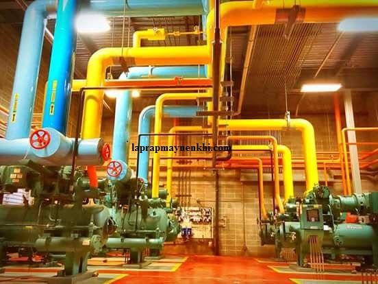 Máy sấy khí kiểu làm lạnh trong hệ thống máy bơm khí nén