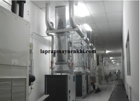 Phương pháp lắp đặt hệ thống máy nén khí an toàn hiẹu quả