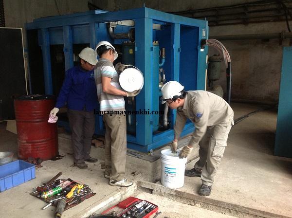 Lựa chọn dầu nhớt máy nén khí
