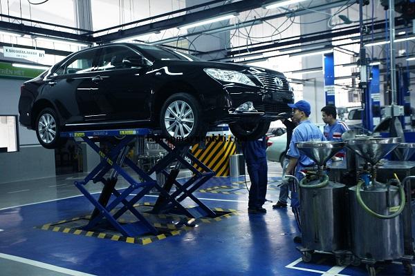 Những ứng dụng của máy nén khí với ô tô