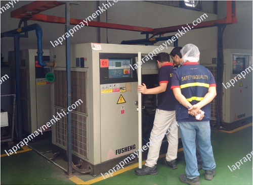 giảm lưu lượng khí nén trên máy nén khí