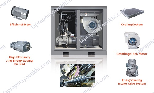 Ưu điểm và nhược điểm của máy nén khí trục vít