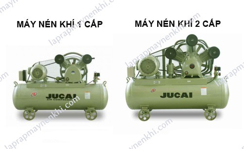 phân biệt máy nén khí 1 cấp và 2 cấp