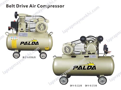 Các sản phẩm thuộc thương hiệu máy nén khí Palda