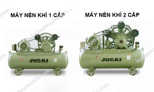 Phân biệt máy nén khí piston cấp 1-2