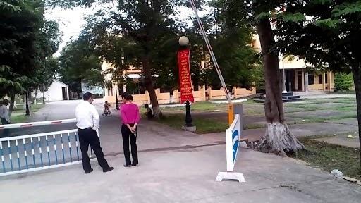 barrier tự động cho trường học
